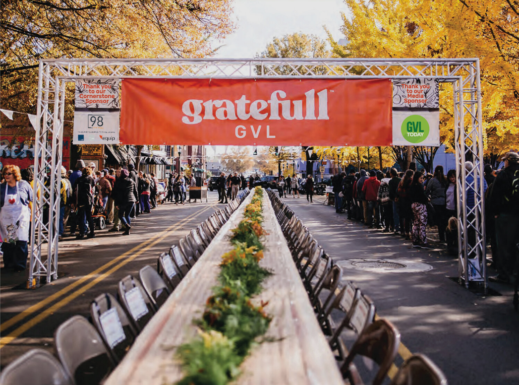 Citywide Thanksgiving Potluck? Yes, way!