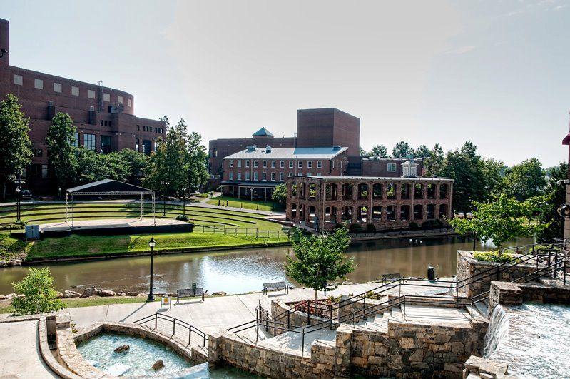 five must see places in greenville sc